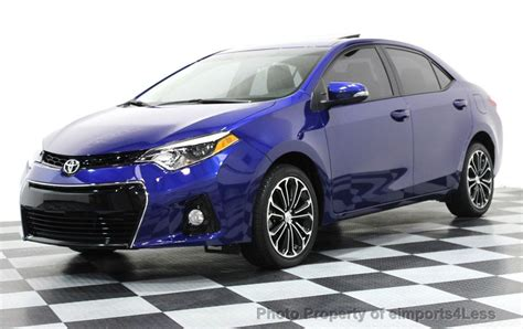 We did not find results for: 2015 Used Toyota Corolla CERTIFIED COROLLA S PLUS SEDAN ...