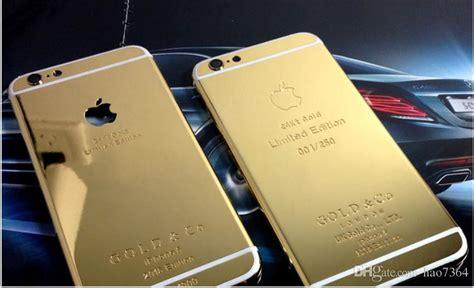 24k Gold Plating Back Housing Cover Case Skin Battery Door