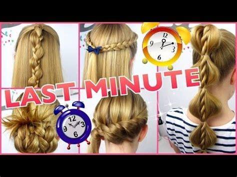 minute frisuren super schnell und einfach youtube