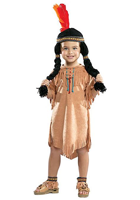 native american girl toddler costume