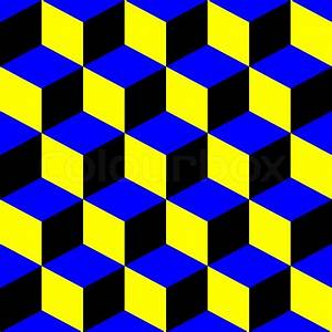 Squares psychedelic pattern, abstract seamless texture