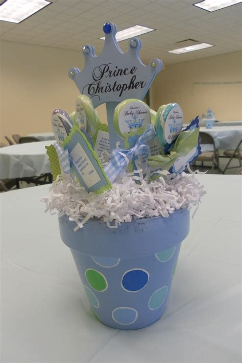 Cheap Baby Shower Ideas For Boys baby shower centerpieces baby shower pinterest