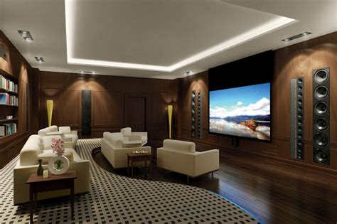 Simple, Elegant And Affordable Home Cinema Room Ideas