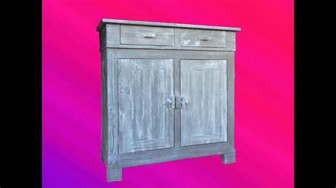 meuble palette bois faire un meuble en bois de palette