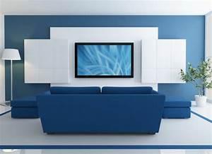 Ideen Tv Wand : tv wand design ~ Lizthompson.info Haus und Dekorationen