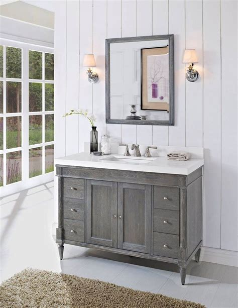 Bathroom Glamorous Bathroom Cabinet Ideas Unique Bathroom. Apothecary Chest. Floral Couch. Modern Wall Clock. Modern Window Valance. Battery Operated Wall Sconces. Edison Pendant Light Fixture. Black Tile Flooring. Industrial Faucet