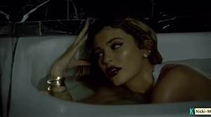 kylie jenner writhes around in bath as selfie queen With kylie jenners bathroom