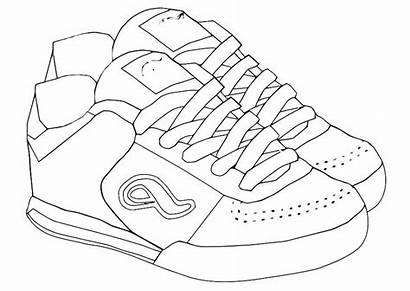 Colouring Shoes Pages Picolour Training