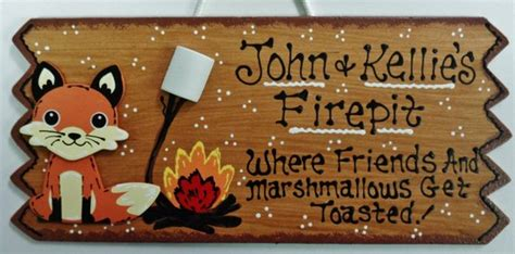 Firepit Sign Personalized Name Fox Sign Fire Pit Backyard Deck Green Home Design Plans Decor Shopping Studio Kickass Trend Blogs Software On Fixer Upper Center Union Nj Total Greenwood In 3d