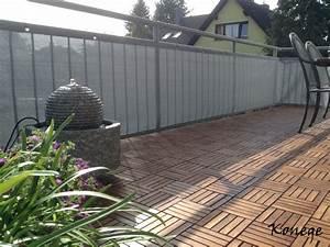 Sichtschutz Balkon Weiß : balkon sichtschutz meterware ~ Markanthonyermac.com Haus und Dekorationen