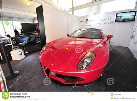 Alfa Romeo Disco Volante Touring On Display During
