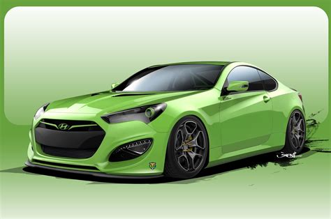 Another Hyundai Genesis Coupe Concept Heads Sema