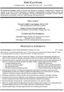 resume sle for career change resume sle for information technology