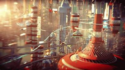 3d Futurama Rendered Fi Sci Dropping Delivers