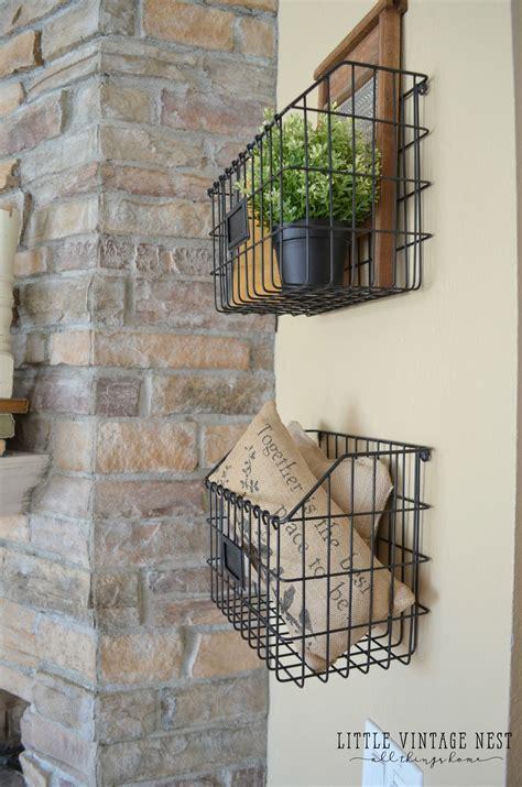Decor Ideas For Kitchen - best 25 farmhouse baskets ideas on farm kitchen decor kitchen and farmhouse decor