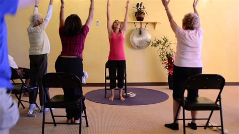 live trio 3 energizing chair classes to keep seniors