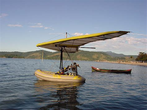 Hang Glider Boat by Dinghies The 32 000 Hang Glider Turned Flying Boat