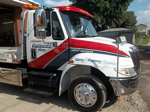 truck lettering by the paint chop With tow truck lettering designs