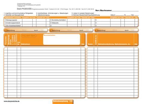 planung planungen formulare manuelle dokumentation