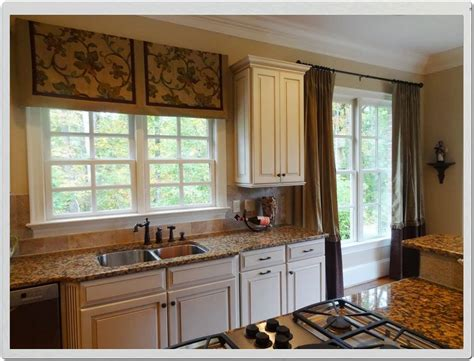 kitchen sink window ideas curtain ideas for small kitchen window treatments with