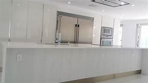 Italian Kitchen Design In White  U2014 Miami General Contractor