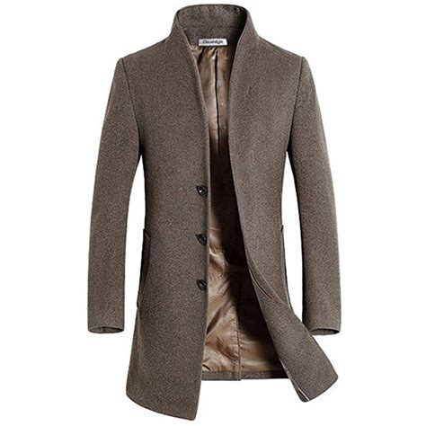 business garderobe herren slim fit herren stilvoller wollmantel winter business s fashion in 2019 m 228 nner mode