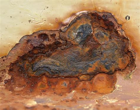 rust weathering oxidation iron facts chemical erosion oxygen remover corrosion rocks rusting metal water chrome exposed rusty materials period occurs