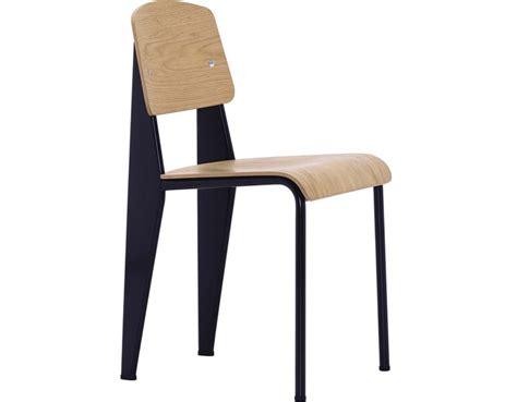 chaise de jean prouvé prouvé standard chair hivemodern com