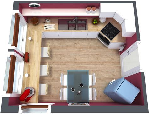 Kitchen Floorplan by 3 Best Kitchen Floor Plan For Your Next Renovation In 3d