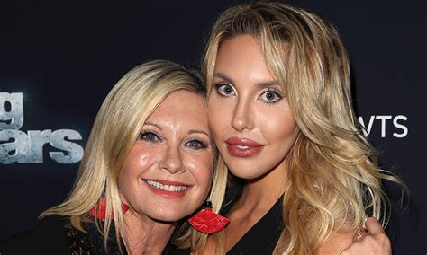 olivia newton johns daughter talks   cancer battle