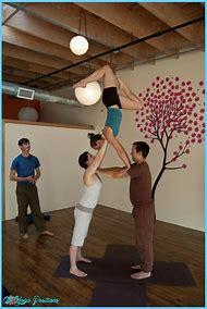 3 Person Acro Yoga Poses