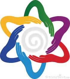 Unity Hands Clip Art