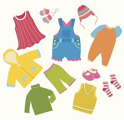 Clipart Clothes Ropa Children Anziehen Kleidung Kleren