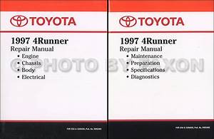 1997 Toyota 4runner Cruise Control Repair Shop Manual Supplement Original