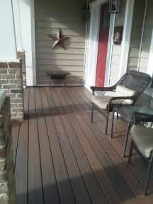 Decking Materials Clean Trex Decking Material Good Porch Flooring Ideas