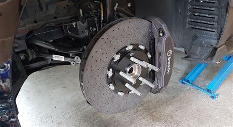 rb performance  gt carbon ceramic front rotors kit