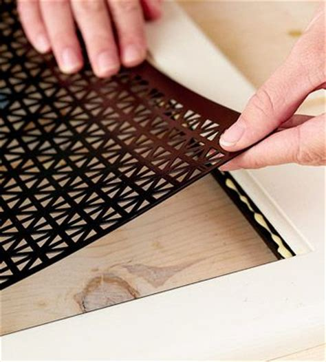 decorative metal screen for cabinets decorative metal cabinet doors and how to remove on pinterest
