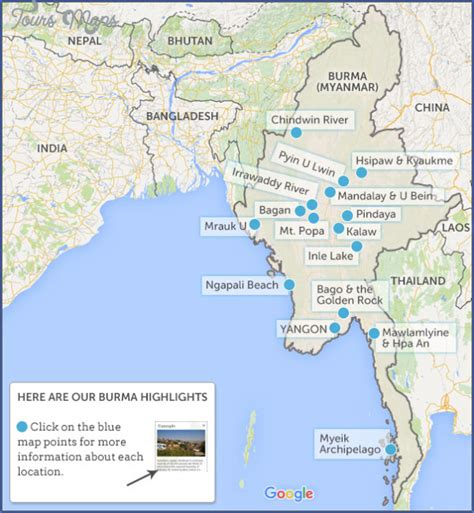 Where Is Burma Located On The World Map Toursmapscom