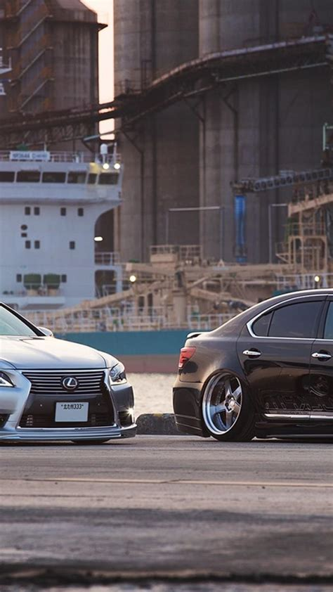 japan lexus ls  stance wallpaper