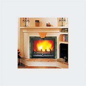 Vitre Insert Autonettoyante : foyer feu continu vitr de 10 kw vision ii fondis ~ Carolinahurricanesstore.com Idées de Décoration