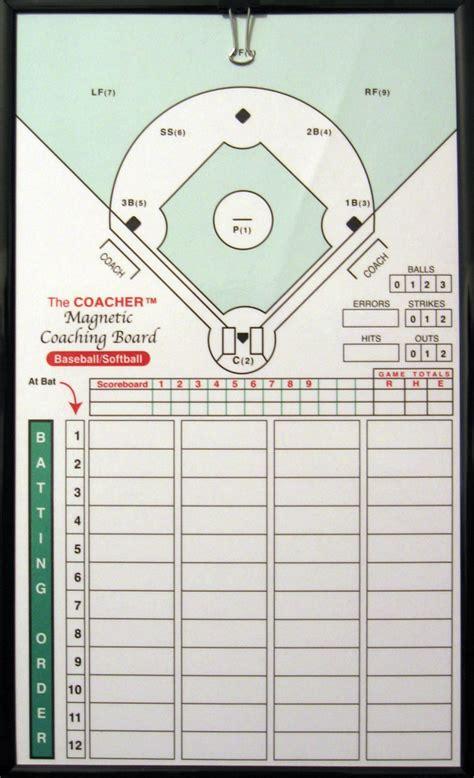 C 700 Baseballsoftball Framed Magnetic Board The