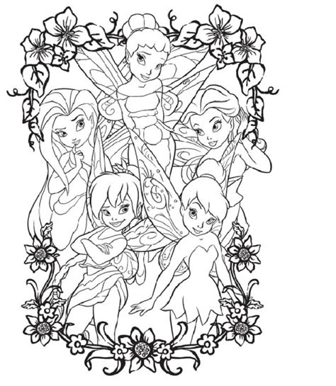 1000+ images about Disney's Fairies Coloring Fairies on