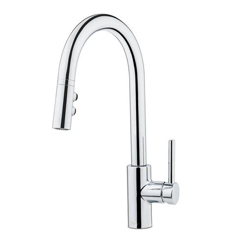 Pfister Chrome Pull Down Faucet, Pull Down Chrome Pfister