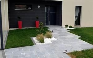exemple entree de maison en pavages realise par binesse a With pavage entree de garage
