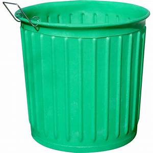Chem-Tainer Industries 60 gal Green Round Carry Barrel