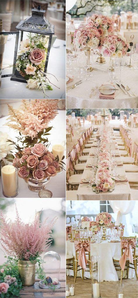 trending  dusty rose wedding color ideas