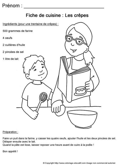 coloriage recette de cuisine cuisine educative pour les enfants le gustatif des papilles de magali