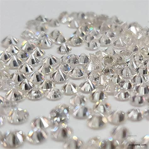 White Round Brilliant Cut Diamonds Manufacturer & Supplier