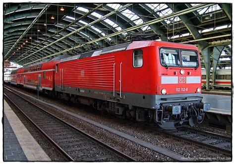 Br 112 112-8 Der Deutschen Bahn (db) In Berlin-ostbahnhof