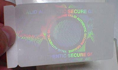 hologram card hologram id card overlay